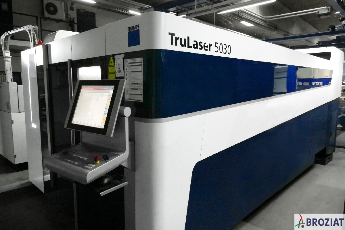 used Laser Cutting Machine TRUMPF TruLaser 5030 Fiber (L41)