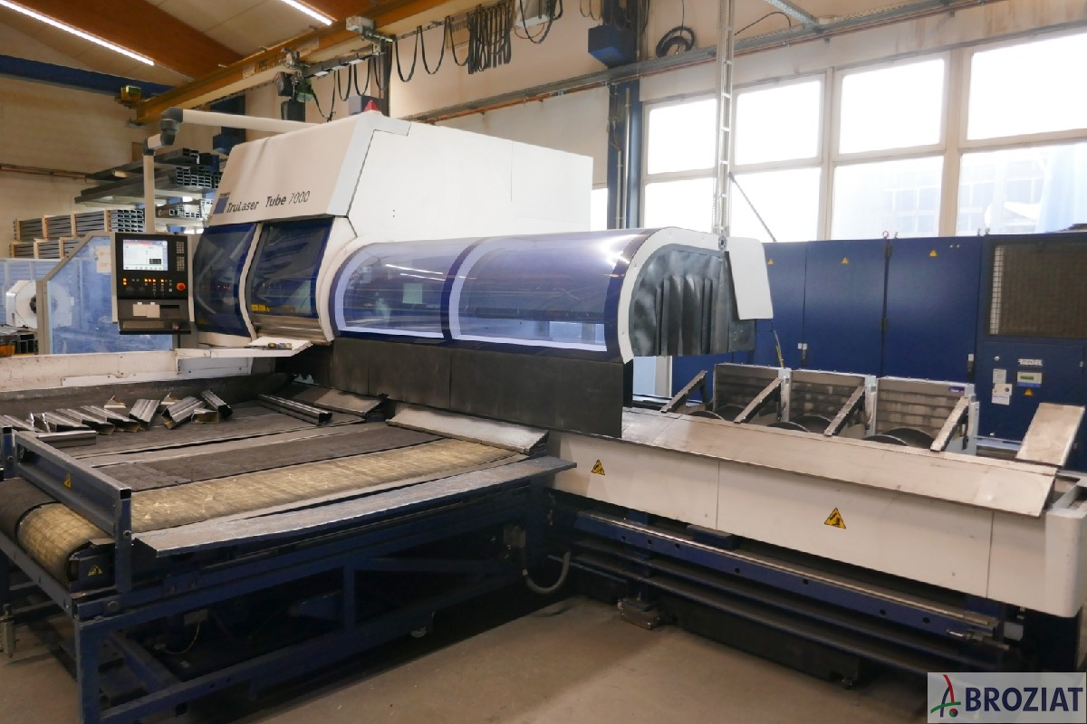 used Laser Cutting Machine TRUMPF TruLaser Tube 7000 (T03)