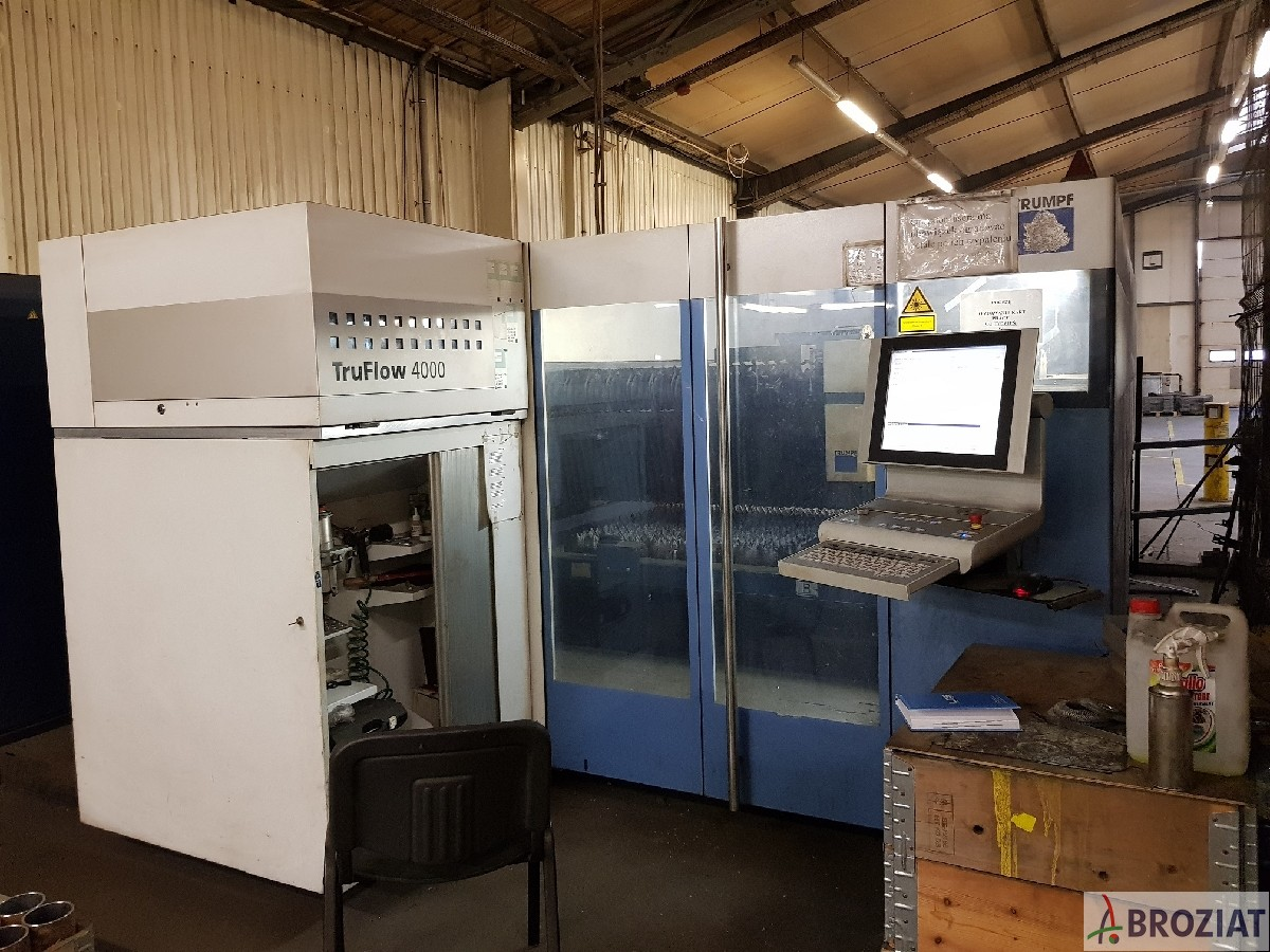 used Laser Cutting Machine TRUMPF TruLaser 3030 (L20)