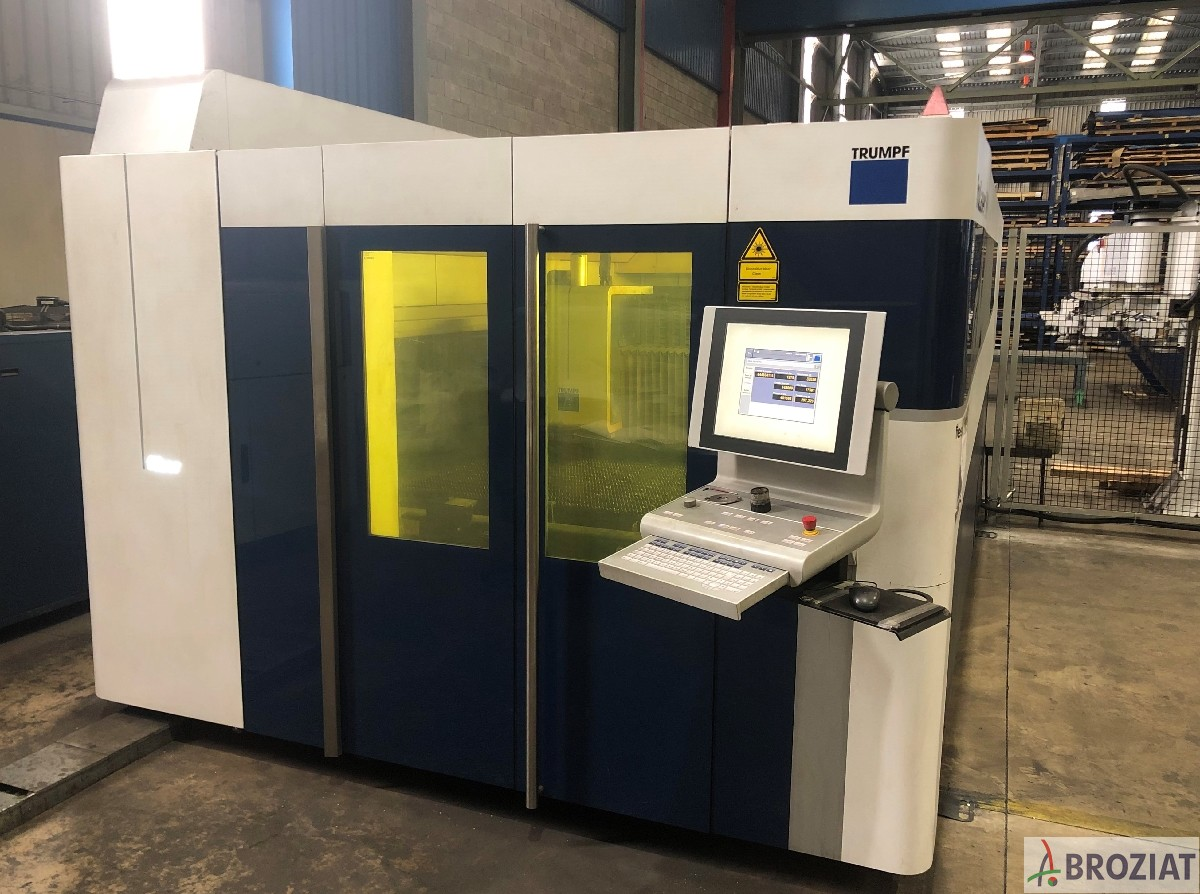 used  Laser Cutting Machine TRUMPF TruLaser 5030 Fiber (L56)