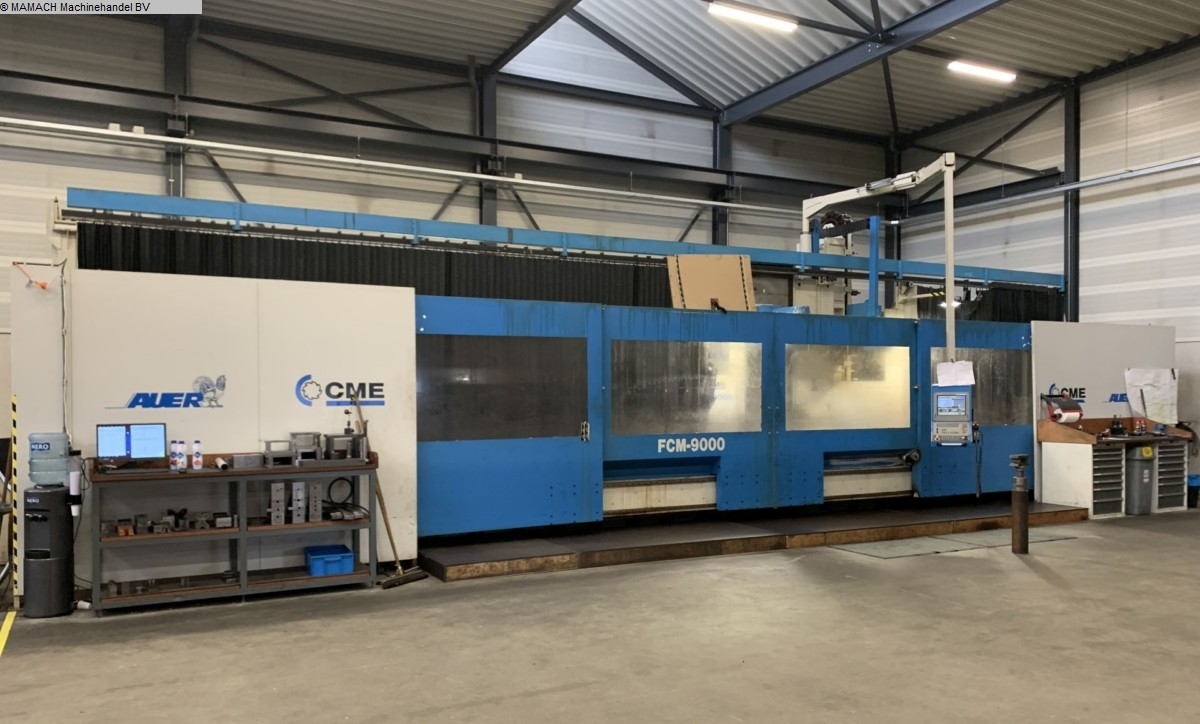 used Milling machines Bed Type Milling Machine - Universal CME FCM 9000