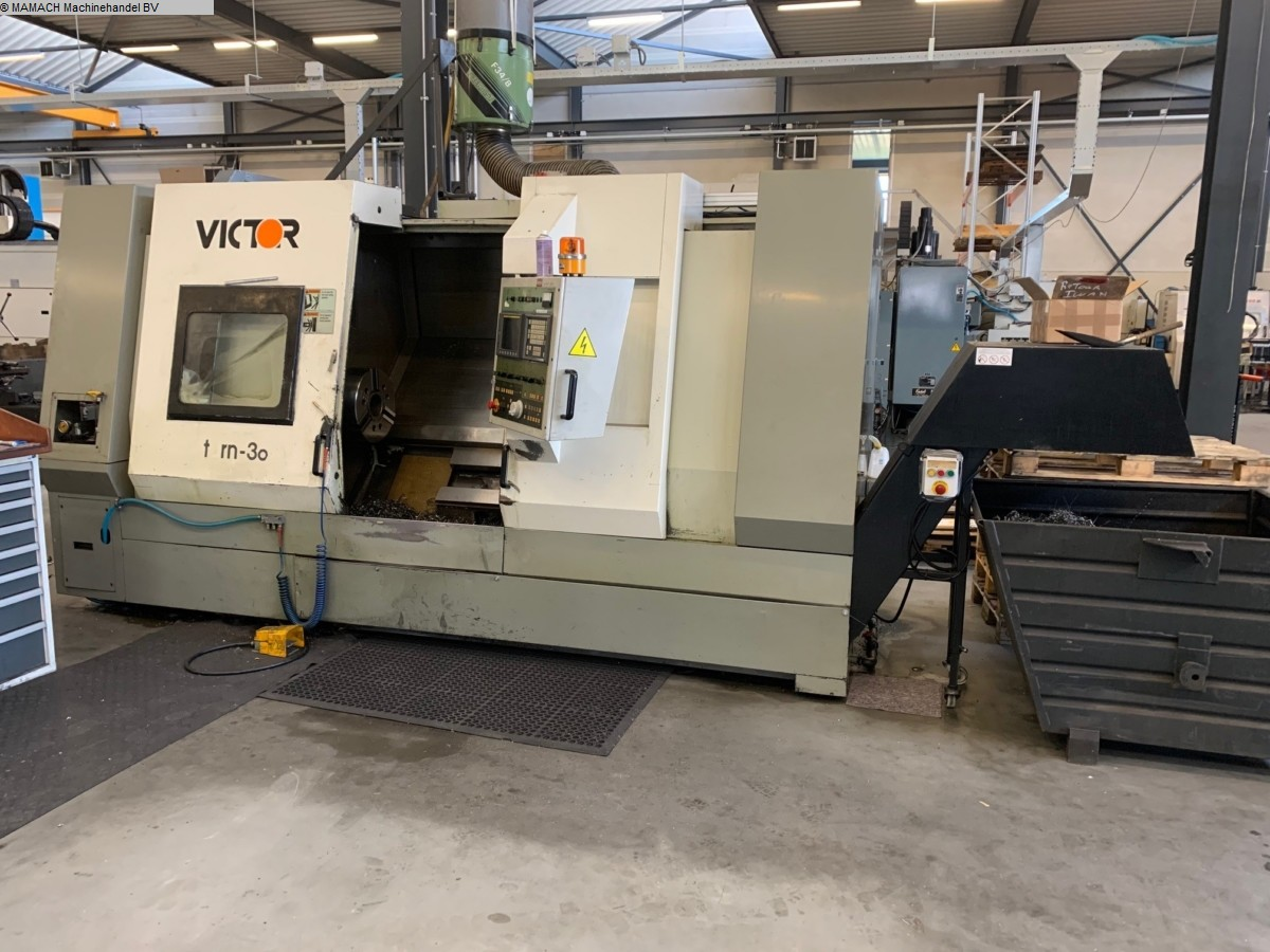 used Lathes CNC Lathe VICTOR V-Turn 36/125