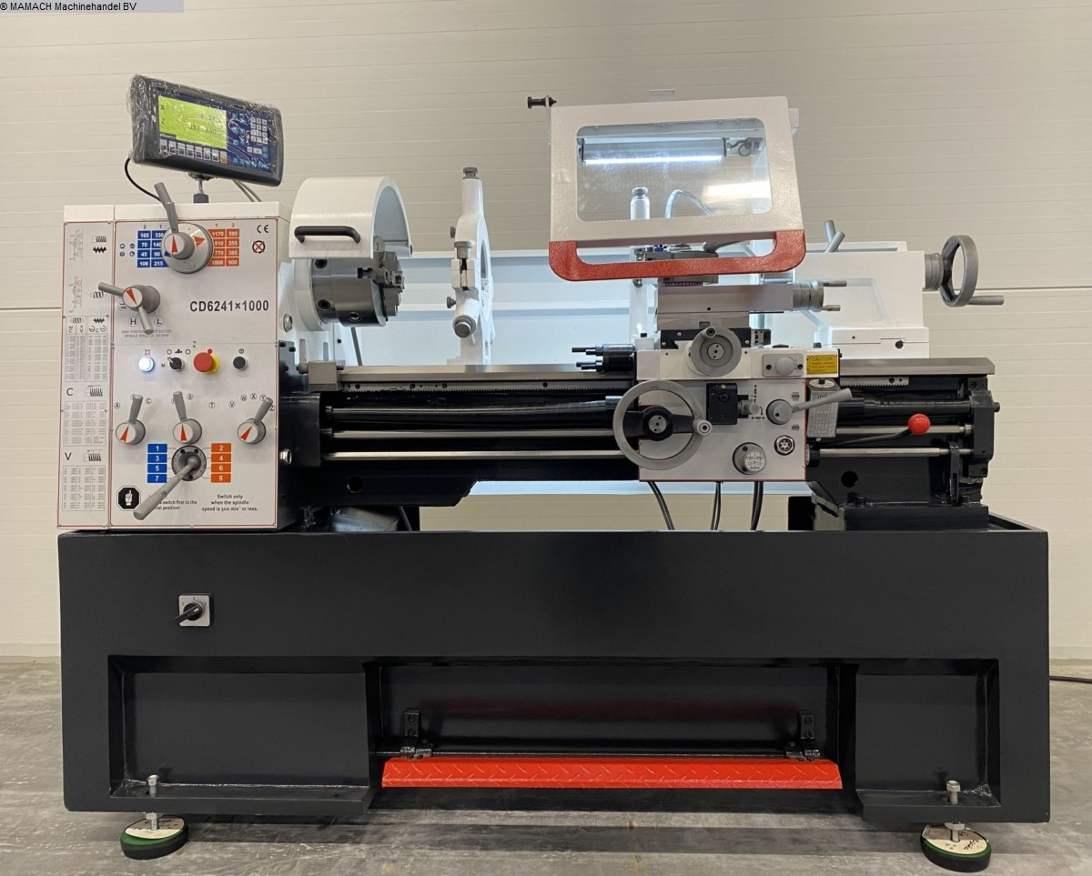 gebrauchte  Drehmaschine-konventionell-elektronisch ToRen CD 6241 x 1000