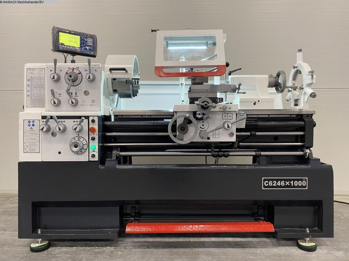 gebrauchte  Drehmaschine-konventionell-elektronisch ToRen C 6246 x 1000