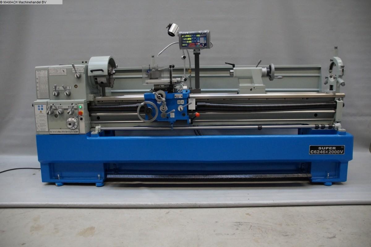 gebrauchte  Drehmaschine-konventionell-elektronisch ToRen C 6246 x 2000 VARIO