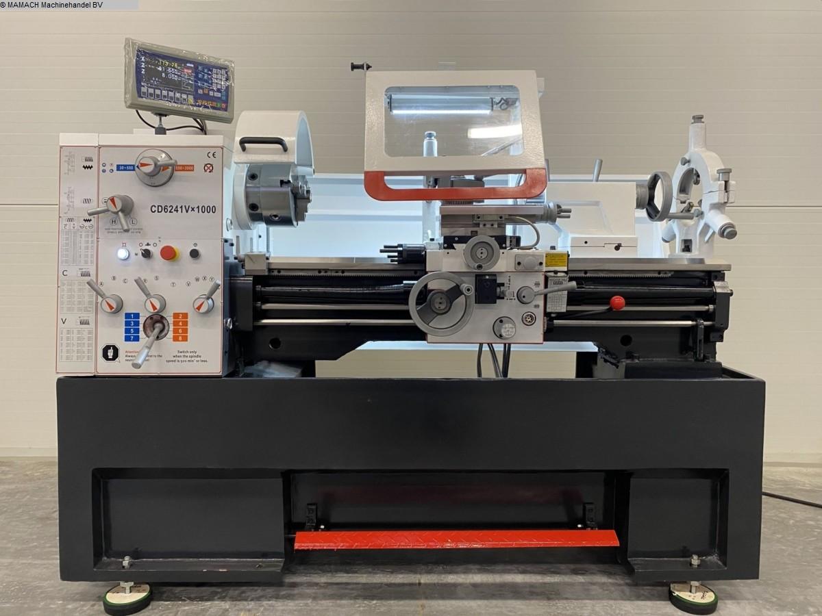 gebrauchte  Leit- und Zugspindeldrehmaschine ToRen CD 6241 x 1000 VARIO