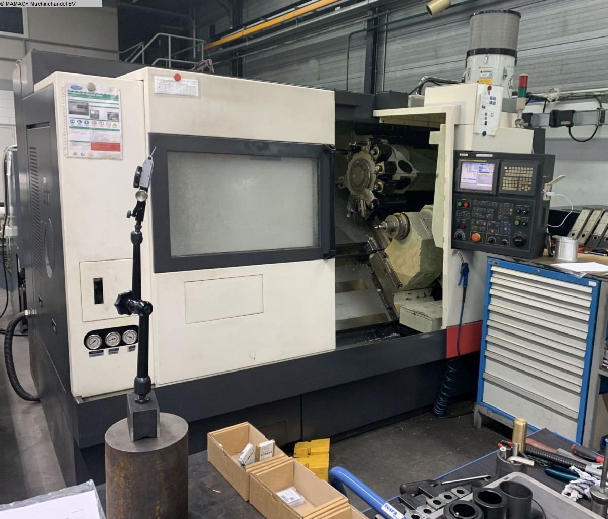 used  CNC Turning- and Milling Center HWACHEON Hi-Tech 300 SMC