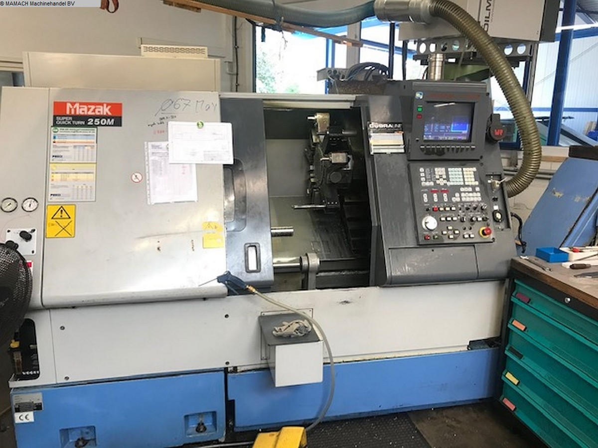 used  CNC Turning- and Milling Center MAZAK Super Quick Turn 250M