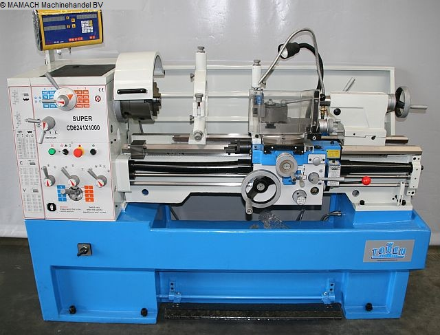 used lathe-conventional-electronic ToRen CD 6241 x 1000