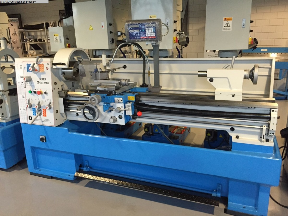 used  lathe-conventional-electronic ToRen CD 6241 x 1500