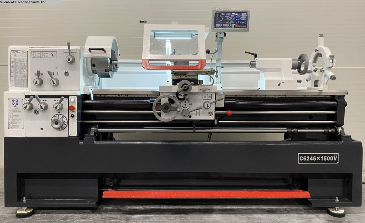 used  lathe-conventional-electronic ToRen C 6246 x 1500