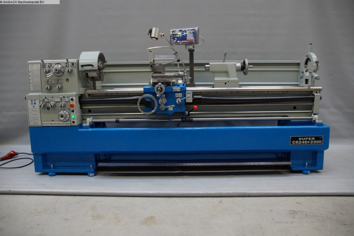 used  lathe-conventional-electronic ToRen C 6246 x 2000