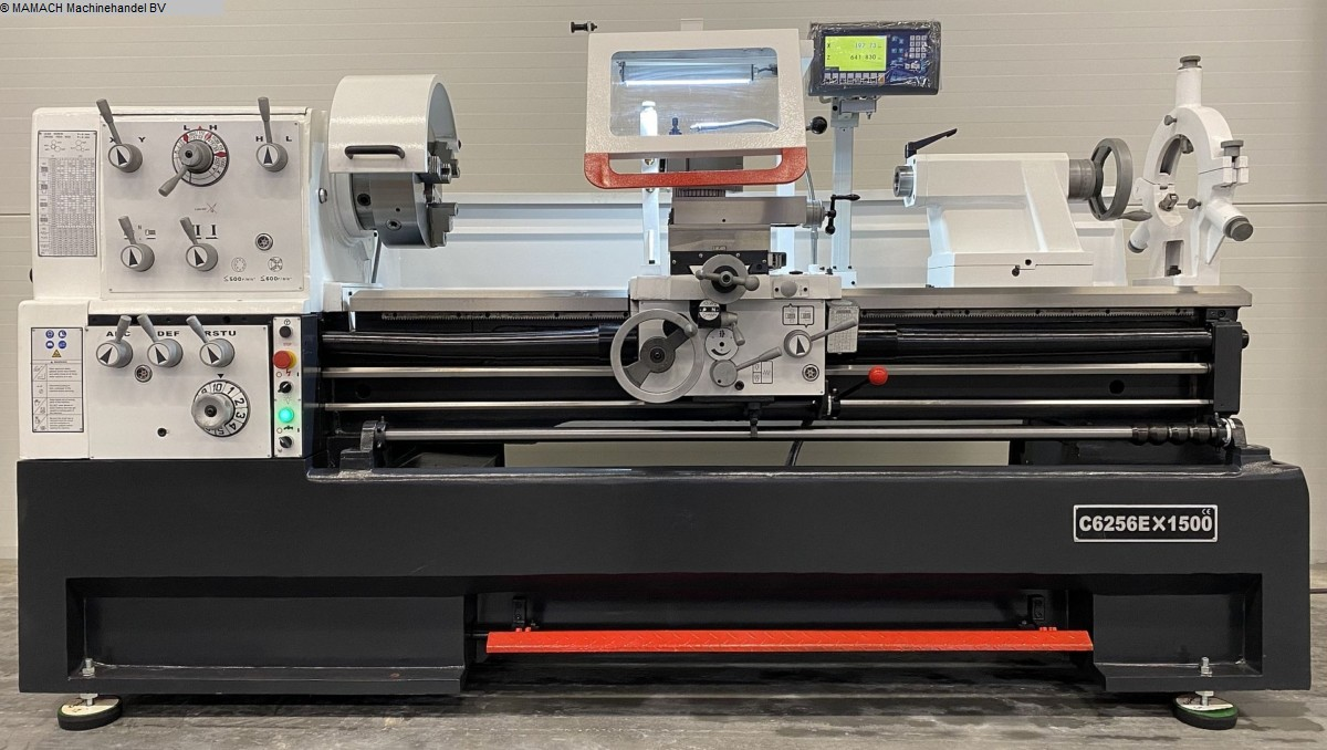 used  lathe-conventional-electronic ToRen C6256 x 1500