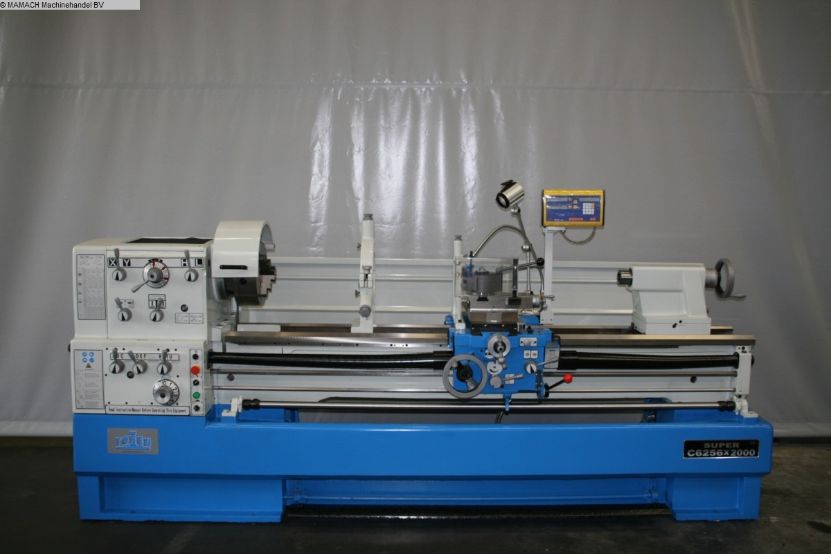 used  lathe-conventional-electronic ToRen C6256 x 2000