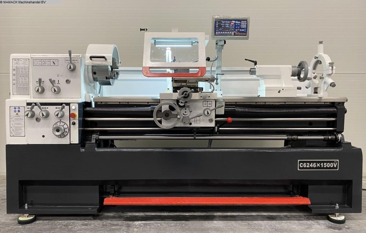used  lathe-conventional-electronic ToRen C6256 x 1500 VARIO