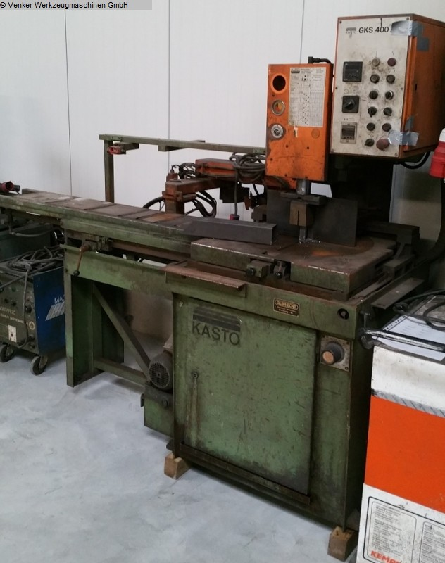 used machine Circular Sawing Machine - Automatic KASTO GKS 400 AU/600