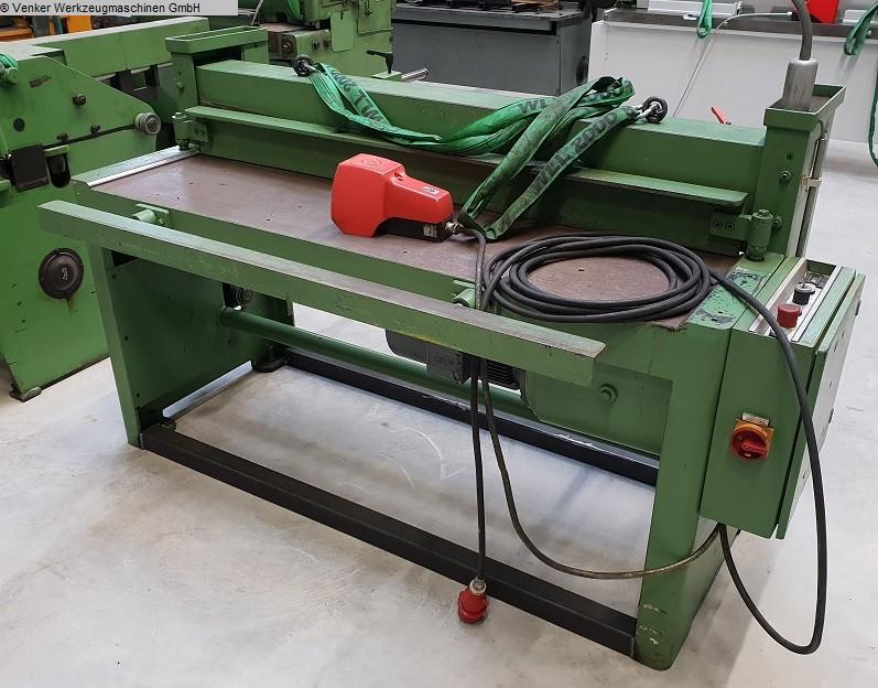 gebrauchte Maschine Tafelschere - mechanisch SCHRÖDER MHSU 1500 x 2,5
