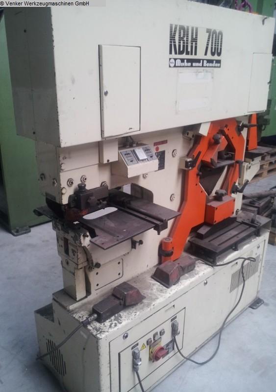 used Sheet metal working / shaeres / bending Section Steel Shear MUBEA KBLH 700