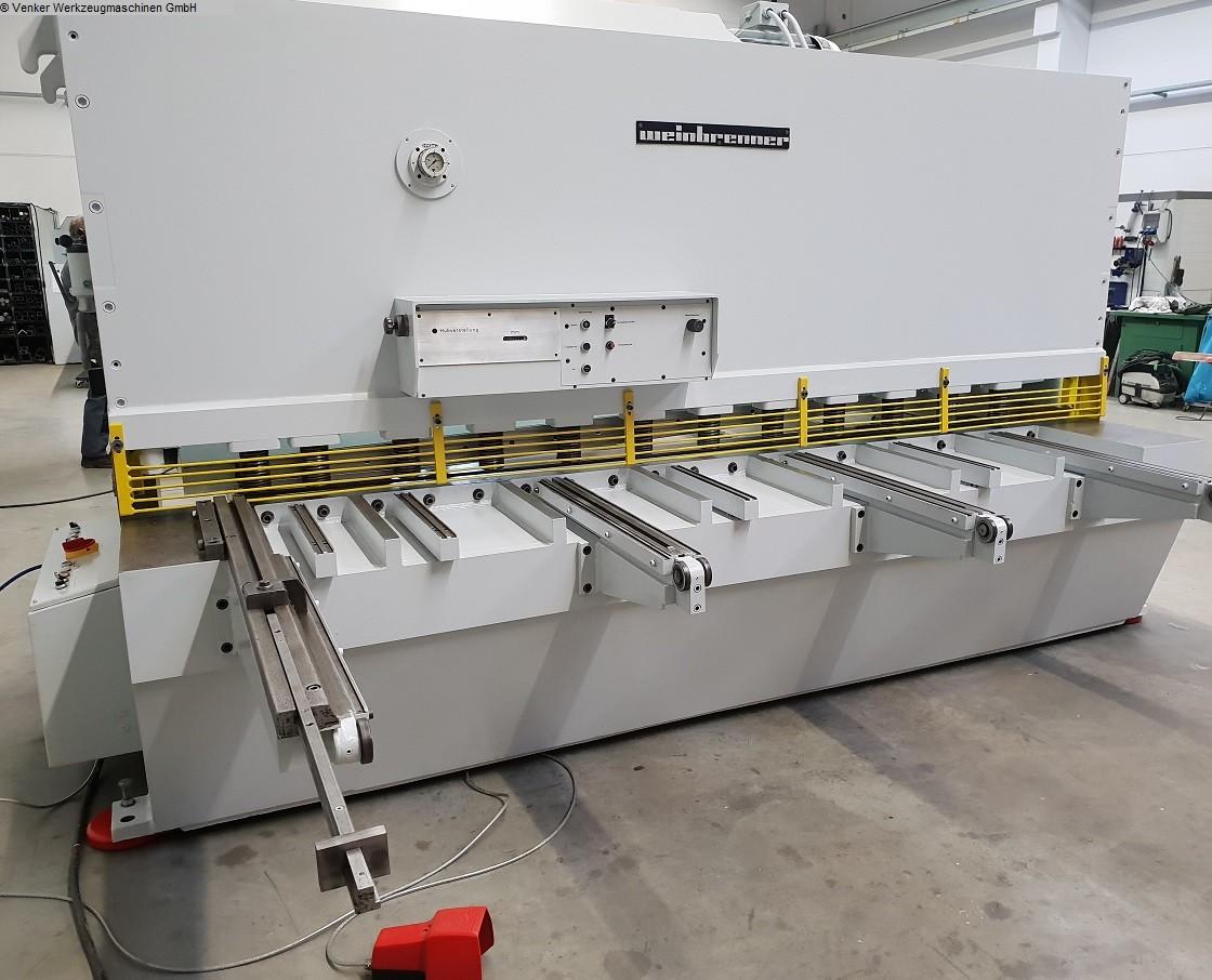 gebrauchte Blechbearbeitung / Scheren / Biegen / Richten Hydraulische - Tafelschere WEINBRENNER TS 12-3050