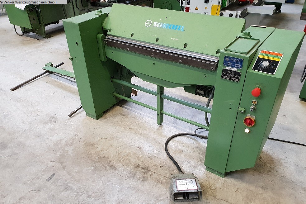used  Folding Machine SCHECHTL Mabo 100