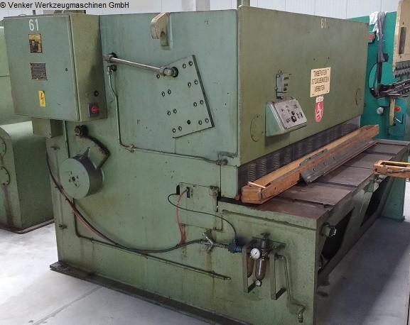 used  Plate Shear - Hydraulic EHT TSS 13-20