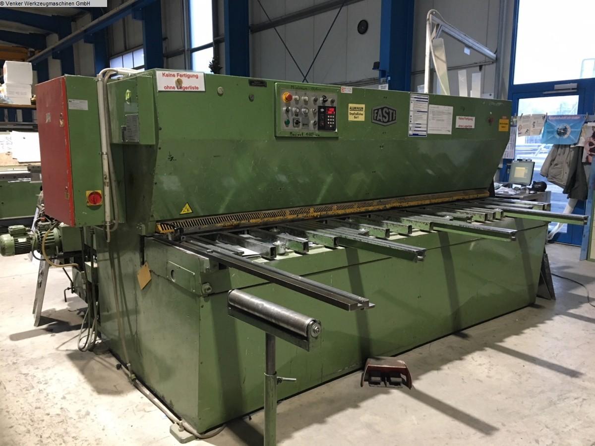 used  Plate Shear - Hydraulic FASTI 509-30-6