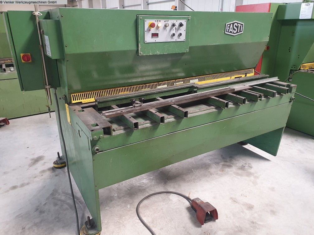 used  Plate Shear - Hydraulic FASTI 509-20-4