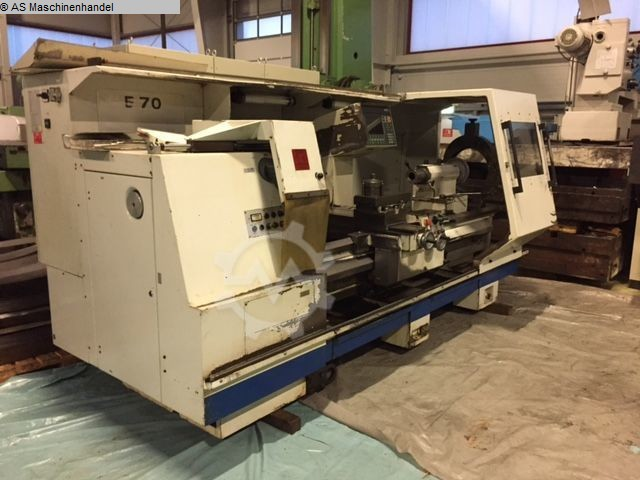 used machine Lathe -  cycle-controlled WEILER E70/2