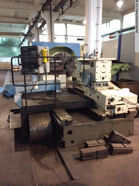 used machine Facing Lathe ZERBST DP1/S3 x 1500