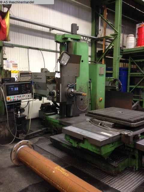 used machine Table Type Boring and Milling Machine TOS WH 10 NC