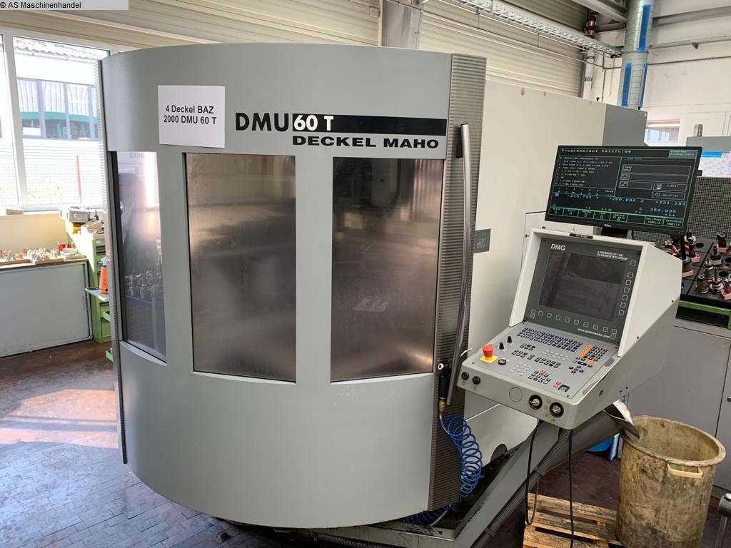 used  Machining Center - Universal DECKEL-MAHO DMU 60T