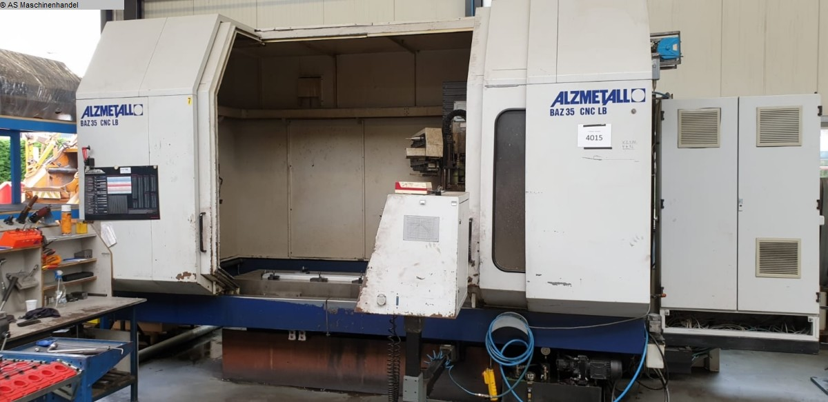 used  Machining Center - Vertical ALZMETALL 4 Achsen BAZ 35 CNC LB