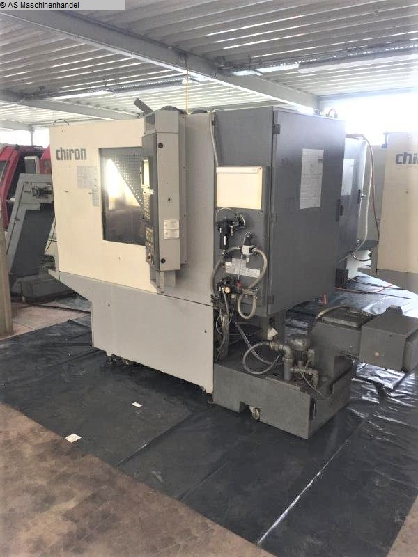 used  Machining Center - Vertical CHIRON FZ 08 W
