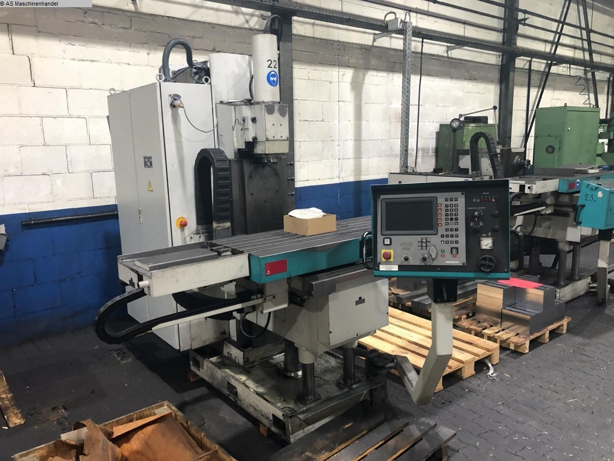 used Milling Machine - Vertical RECKERMANN CONSA V