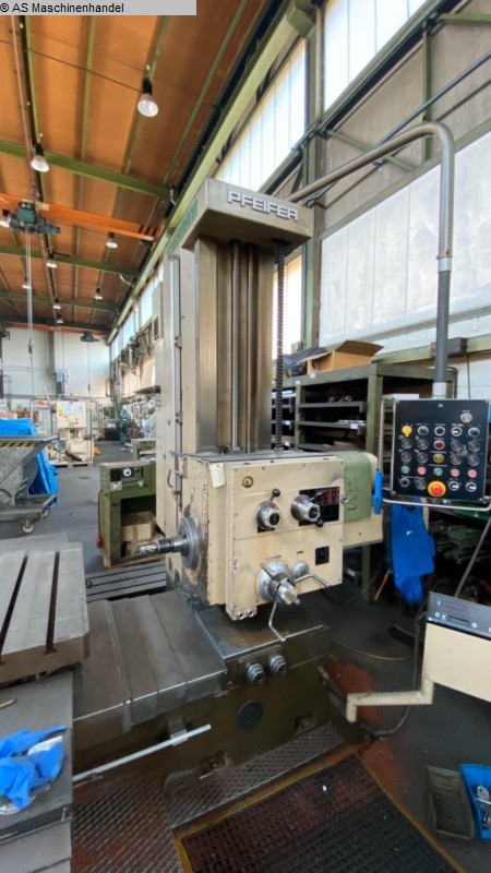 used  Table Type Boring and Milling Machine SCHARMANN F80-1
