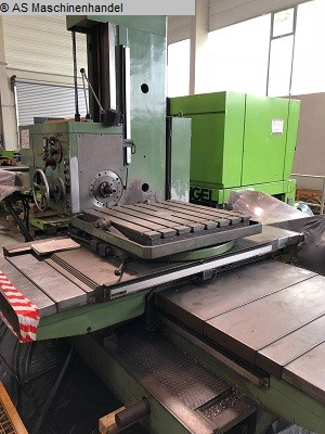 used  Table Type Boring and Milling Machine TOS W75