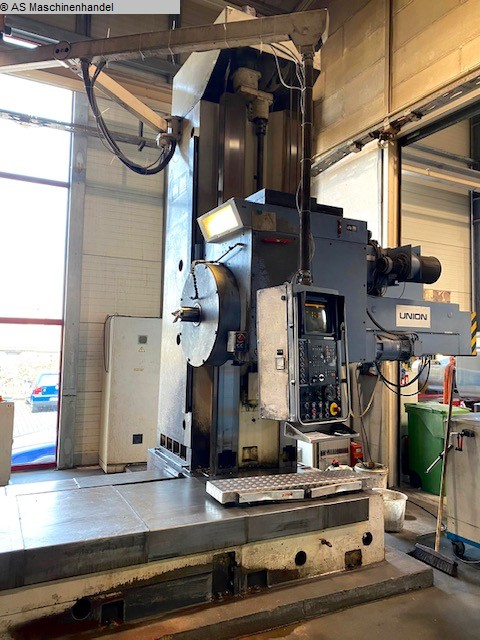 used  Table Type Boring and Milling Machine UNION BFT 130/6