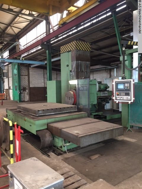 used  Table Type Boring and Milling Machine WMW UNION BFKP 110/1