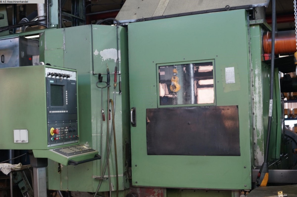 used  Vertical Turret Lathe - Single Column HESSAPP DV 80 NC