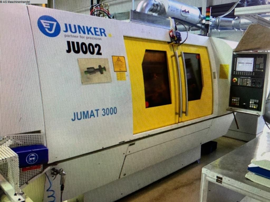 used Grinding machines Cylindrical Grinding Machine JUNKER Jumat 3000/50