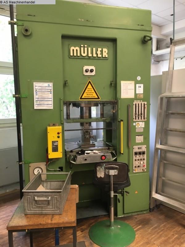 gebrauchte Pressen und Bördelmaschinen Hydraulische Presse MÜLLER WEINGARTEN SD63.11.25