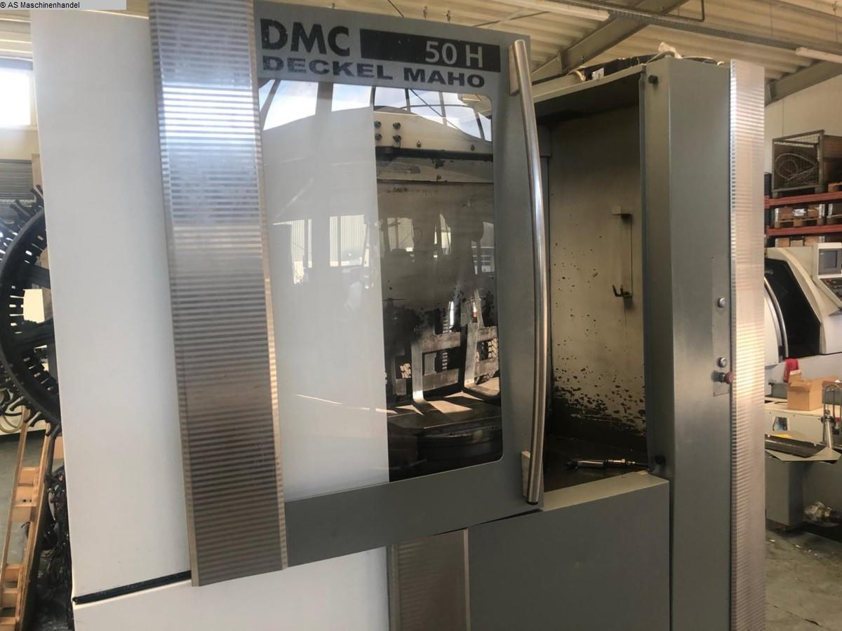 used Milling machines milling machining centers - horizontal DMG DMC 50 H