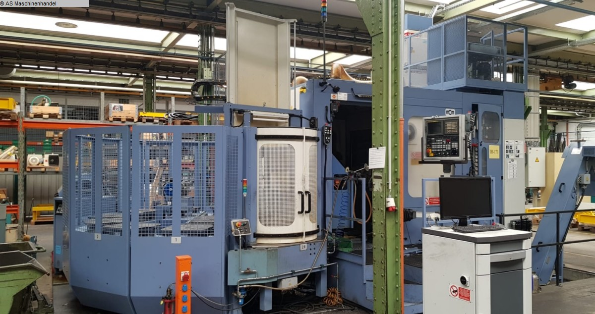 used Milling machines milling machining centers - universal MCM Clock 700 5-Achsen MP10