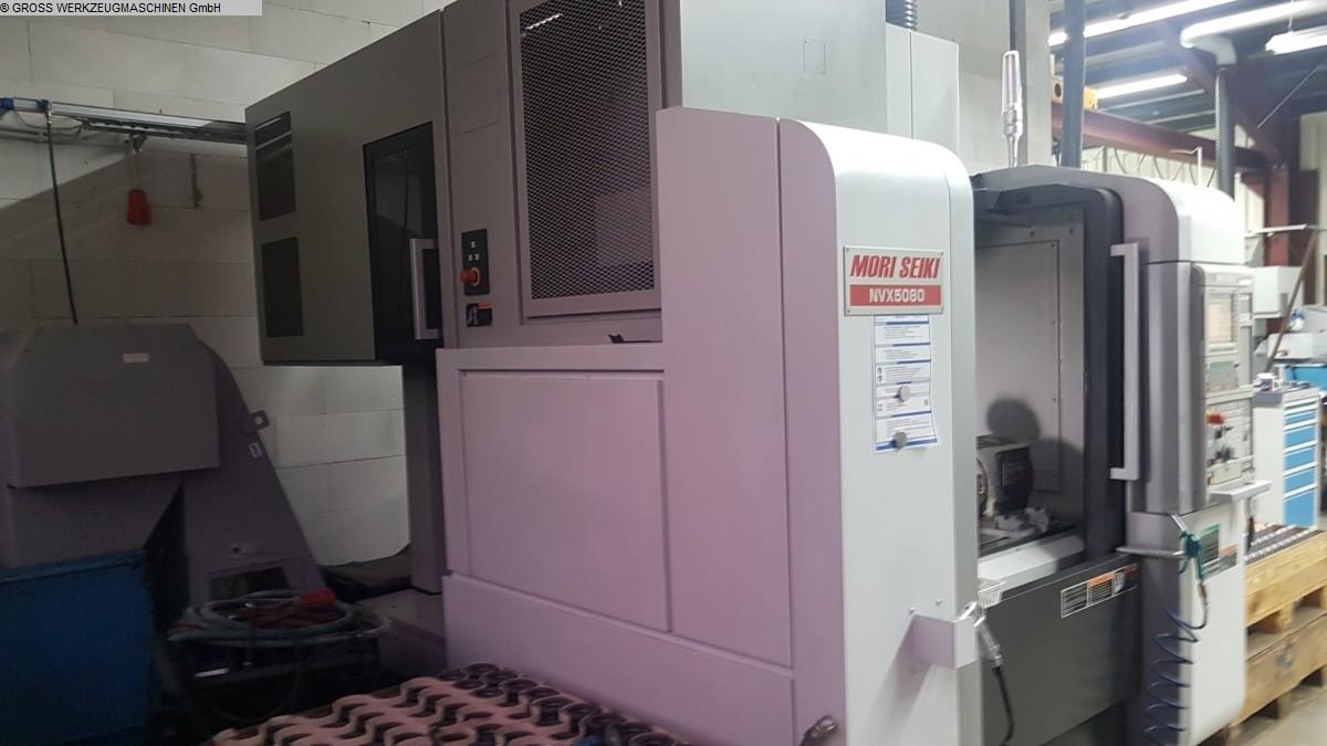 gebrauchte Maschine Bearbeitungszentrum - Vertikal MORI SEIKI NVX 5080/40