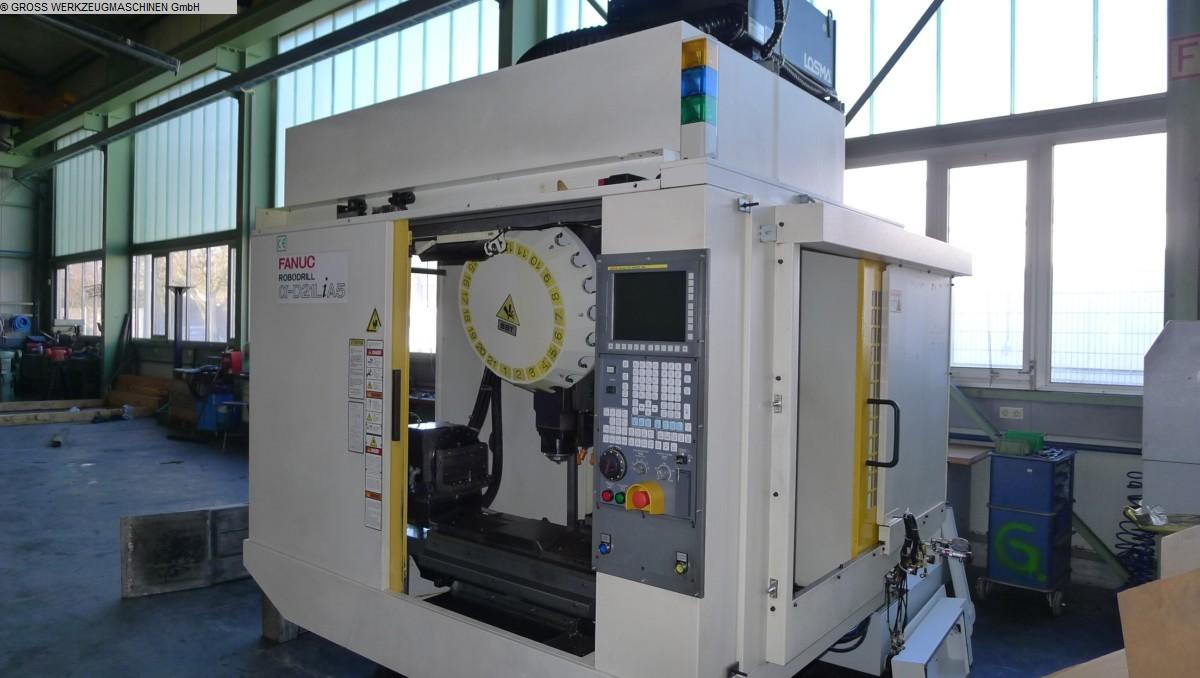 centros de mecanizado de fresado de máquinas usadas - vertical FANUC ROBODRILL D 21 LiA5