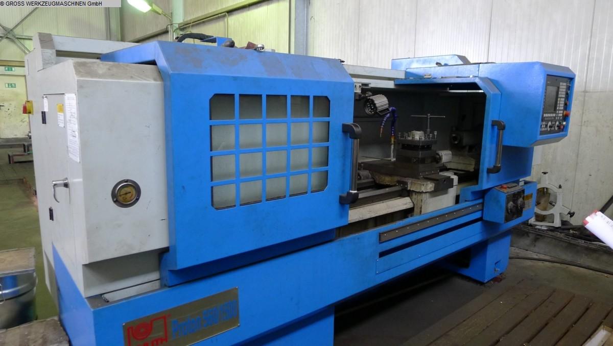 gebrauchte Drehmaschine - zyklengesteuert KNUTH PROTON 560 / 1500