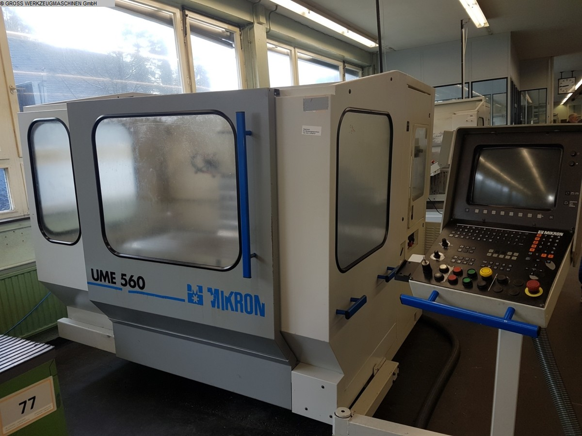 used Universal Milling and Boring Machine MIKRON UME 560