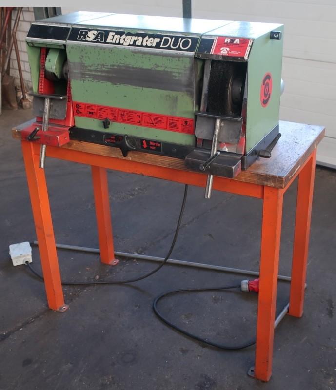 gebrauchte Schleifmaschinen Flachschleifmaschine RSA Entgrater-DUO