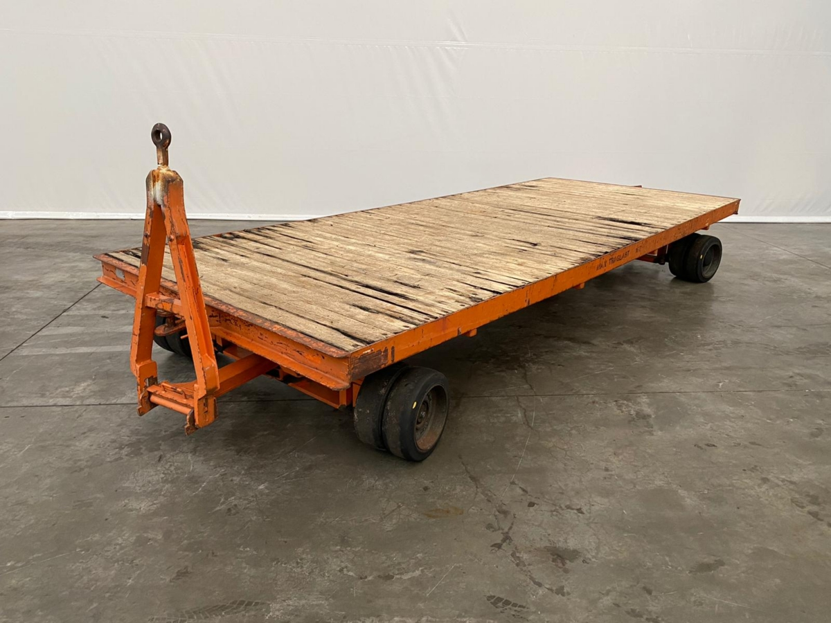 used Other attachments Heavy Goods Trailer ASL 8377