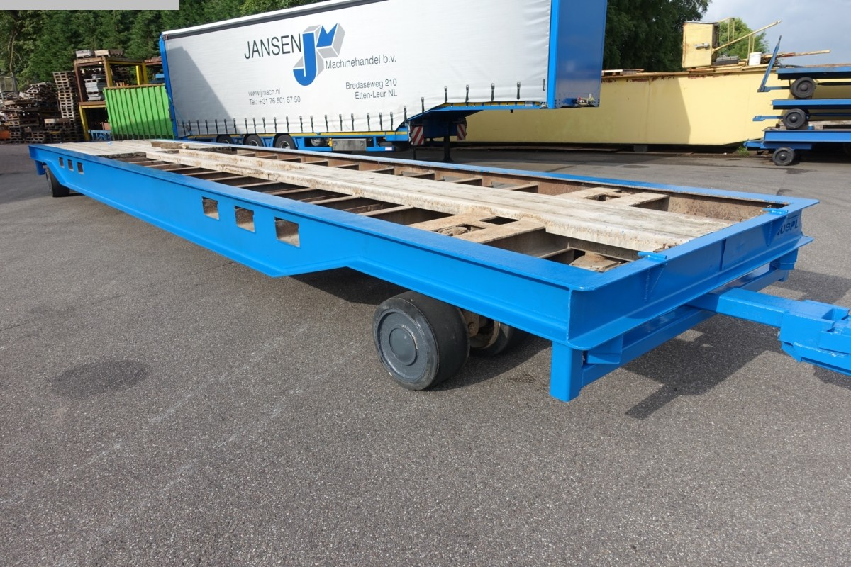 used Other attachments Heavy Goods Trailer NUSPL 50 T